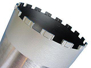 Diamant-Bohrkronen für das Elektro-, Heizungs-, Lüftungs- und Sanitärgewerbe.