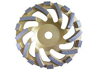 Diamant-Schleifteller passend zum Hilti Betonschleifer DG 150. | Für Beton, Granit, harte Natursteine. Sehr hohe Standzeit im empfohlenen Anwendungsbereich!