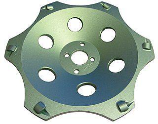 Diamant-Schleifteller Ø 180 mm PKD Cup / Scheiftopf Ø 180 mm für Farbbeschichtungen, Epoxidharz, Klebereste. | PKD = Polykristalliner Diamant, dadurch TOP Standzeit & Abtragsleistung!