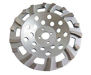 Diamant-Schleifteller / Schleiftopf Ø 180 mm für Beton & Naturstein ✓ schnelle Abtragsleistung ✓ | Für Beton, Naturstein, Epoxidharz - sehr schnelle Abtragsleistung.
