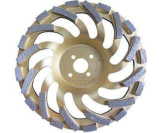 Diamant-Schleifteller / Schleiftopf Ø 180 mm für Beton & Naturstein ✓ Premium-Ausführung ✓ sehr hohe Standzeit ✓ | Diamant-Schleiftopf für Beton und Naturstein, sehr hohe Standzeit!