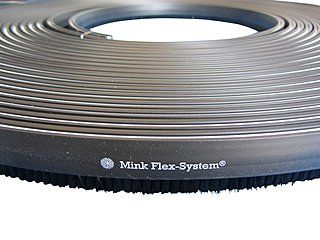 10 m Bürstenkranz / Bürstenband passend zu unseren Metall-Absaughauben | Die Absaughauben passen für Makita, Bosch, Hitachi und mehr!