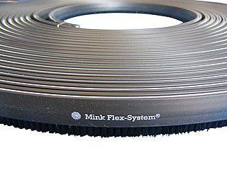 25 m Bürstenkranz / Bürstenband passend zu unseren Metall-Absaughauben | Die Absaughauben passen für Makita, Bosch, Hitachi und mehr!