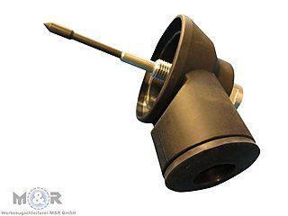 Staubabsaugung für Dosensenker inklusive Feder-Zentrierspitze | M16-Aufnahme Maschinenseitig ➤ jetzt günstig im Online-Shop von M&R