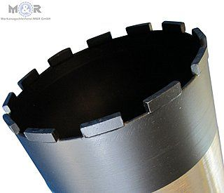Spezial-Diamant-Bohrkronen für stark abrasive Materialien wie Asphalt und Frischbeton - Made in Germany!