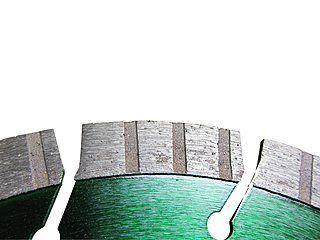 "Diamant-Trennscheibe Typ ""Green Runner"" - Ø 230 mm Segmentbild"