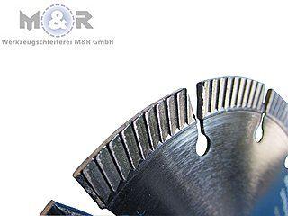 """Diamanttrennscheibe """"Super Abrasiv"""" Ø 230 mm - Segmentbild"""