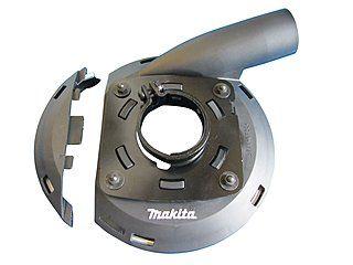 Makita-Absaughaube aus Kunststoff Ø 125 mm für Makita-Winkelschleifer |