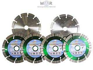 Inklusive 6x Diamant-Trennscheiben