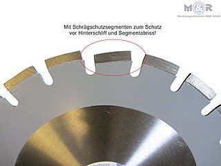 Diamant-Trennscheibe Laser-Asphalt, Durchmesser und Bohrung im Shop wählbar!