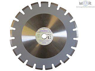 Diamant-Trennscheibe Asphalt Ø 300 x 20,0 mm mit 10 mm hohen Laser-Segmenten für Asphalt, Frischbeton, Bitumen, stark abrasive Materialien! |
