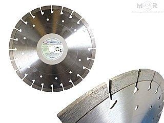Diamant-Trennscheibe Ø 300 x 20,0 mm für Beton, Granit, Klinker, Ziegel mit 14 mm Segmenthöhe für Tischsäge und Trennschleifer | Galerie-Ansicht