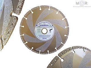 Spezial Diamant-Trennscheibe Rescue Trinity der Allesschneider! Geeigent für: Eisen, Stahl, Guss, Leitplanken, Kunststoffe, GFK, Hartgummi, Sicherheitsglas, Eis |