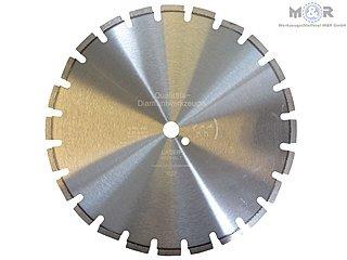 Diamant-Trennscheibe Asphalt 400 x 25,4 mm ✓ auch für Frischbeton, Bitumen & Estrich geeignet ✓ online & stationär günstig kaufen bei M&R |