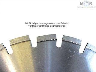 Diamant-Trennscheibe Asphalt 400 x 25,4 mm
